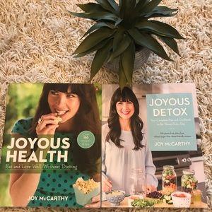 Joyous Health Cookbook Set